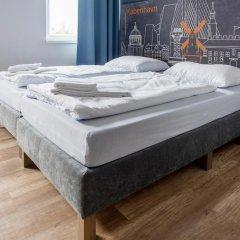 Отель a&o Copenhagen Norrebro Стандартный номер с различными типами кроватей