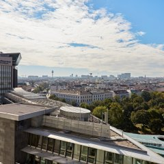 Отель Hilton Vienna Австрия, Вена - 13 отзывов об отеле, цены и фото номеров - забронировать отель Hilton Vienna онлайн балкон фото 4