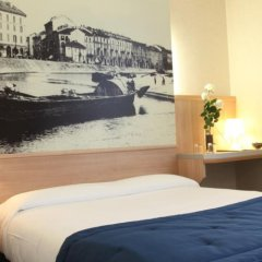 Hotel Aosta Милан комната для гостей