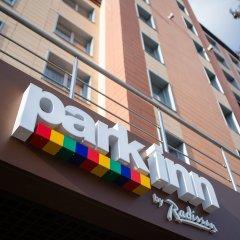 Гостиница Park Inn by Radisson Izmailovo Moscow вид на фасад
