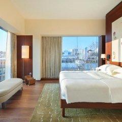 Отель Park Hyatt Zurich 5* Угловой люкс Park с различными типами кроватей фото 3