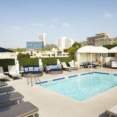 Отель Le Montrose Suite Hotel США, Уэст-Голливуд - отзывы, цены и фото номеров - забронировать отель Le Montrose Suite Hotel онлайн бассейн фото 2