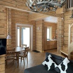 База Отдыха Forrest Lodge Karelia Улучшенный шале с разными типами кроватей фото 18