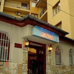 Chris Hotel Sveti Vlas вид на фасад фото 2