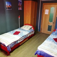 Хостел Ливадия на Заневском Номер с общей ванной комнатой с различными типами кроватей (общая ванная комната) фото 8