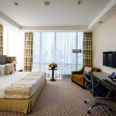 Гостиница Crowne Plaza Moscow World Trade Centre 5* Клубный номер с различными типами кроватей