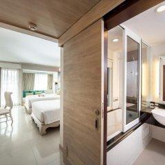Отель Novotel Phuket Resort 4* Улучшенный номер с различными типами кроватей фото 7