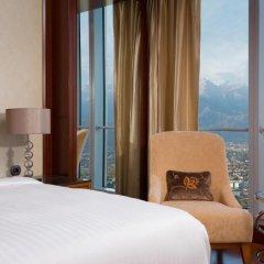 Отель The Ritz-Carlton, Almaty Номер Делюкс