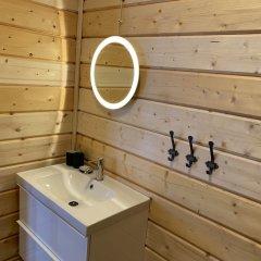 База Отдыха Forrest Lodge Karelia Улучшенный шале с разными типами кроватей фото 21