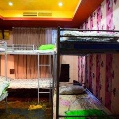 Хостел Полянка на Чистых Прудах Семейный номер категории Эконом с двухъярусной кроватью (общая ванная комната)