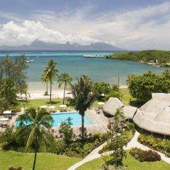 Отель Sofitel Tahiti Maeva Beach Resort пляж