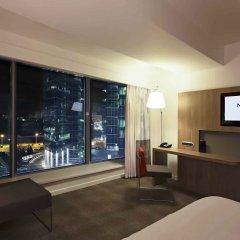 Гостиница Новотель Москва Сити 4* Улучшенный номер с двуспальной кроватью фото 3