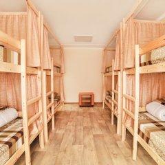 Хостел Кристалл Кровать в общем номере с двухъярусной кроватью фото 3