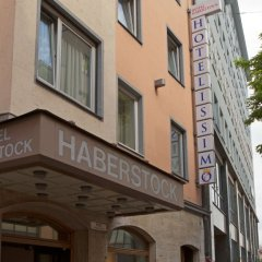Hotel Haberstock вид на фасад фото 2