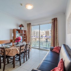 Апартаменты Spinola Bay Сан Джулианс комната для гостей фото 3