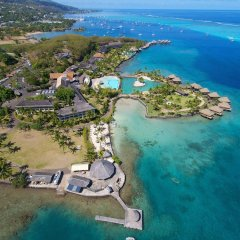 Отель InterContinental Resort Tahiti пляж фото 3