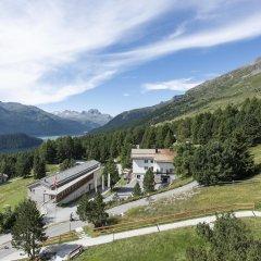 Отель Randolins Familienresort Швейцария, Санкт-Мориц - отзывы, цены и фото номеров - забронировать отель Randolins Familienresort онлайн приотельная территория