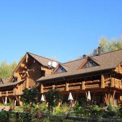 Гостиница Ekootel Romanov Les в Лунево 4 отзыва об отеле, цены и фото номеров - забронировать гостиницу Ekootel Romanov Les онлайн вид на фасад фото 2