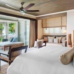 Отель The St. Regis Mauritius Resort 5* Люкс Beachfront grand с различными типами кроватей