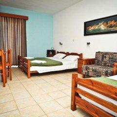 Отель Kapsohora Inn Hotel Греция, Пефкохори - отзывы, цены и фото номеров - забронировать отель Kapsohora Inn Hotel онлайн комната для гостей фото 4
