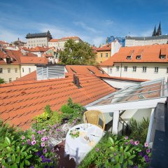 Boutique Hotel Constans Prague бассейн