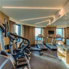Отель Holiday Inn Warsaw City Centre фитнесс-зал фото 2