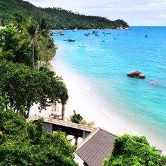 Отель Koh Tao Beach Club пляж фото 5