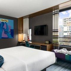 Отель Aloft Brussels Schuman 3* Номер Savvy с различными типами кроватей