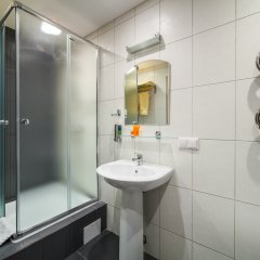 Гостиница Комплекс апартаментов Комфорт Улучшенная студия с различными типами кроватей фото 22