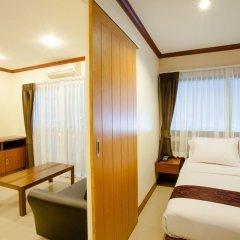 Отель Natural Beach Паттайя комната для гостей фото 10