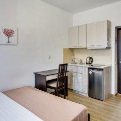 Апарт-Отель Грин Холл Стандартный номер разные типы кроватей фото 10