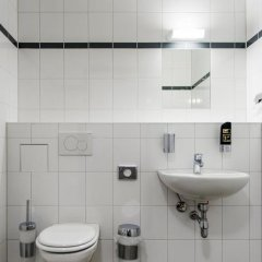 Отель a&o Copenhagen Norrebro Стандартный номер с различными типами кроватей фото 6