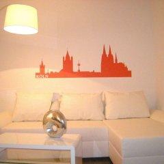 Отель A-partment -mediapark Кёльн комната для гостей фото 4