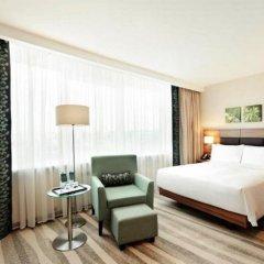Гостиница Хилтон Гарден Инн Москва Красносельская 4* Улучшенный номер разные типы кроватей