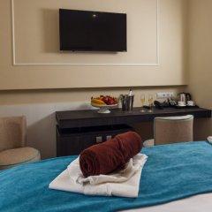 Гостиница Голубая Лагуна Улучшенный номер разные типы кроватей фото 8
