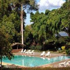 Отель Miridiya Lake Resort Шри-Ланка, Анурадхапура - отзывы, цены и фото номеров - забронировать отель Miridiya Lake Resort онлайн бассейн фото 3