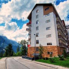AYS Design Hotel Роза Хутор вид на фасад фото 3