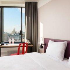 AZIMUT Отель Смоленская Москва 4* Номер SMART Superior с 2 отдельными кроватями фото 4