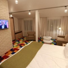 Спектр бизнес-отель Таганская Москва комната для гостей фото 10