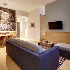 Отель Hyatt House Dusseldorf Andreas Quarter Студия с различными типами кроватей