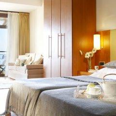 Отель Anthemus Sea Beach Hotel & Spa Греция, Ситония - 2 отзыва об отеле, цены и фото номеров - забронировать отель Anthemus Sea Beach Hotel & Spa онлайн комната для гостей фото 4