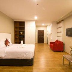 Отель V8 Seaview Jomtien Таиланд, Паттайя - отзывы, цены и фото номеров - забронировать отель V8 Seaview Jomtien онлайн комната для гостей фото 2