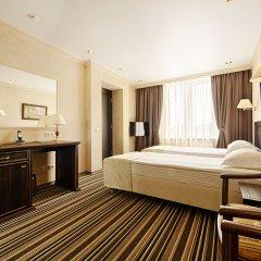 Гостиница «Барнаул» 3* Номер Бизнес с двуспальной кроватью фото 7