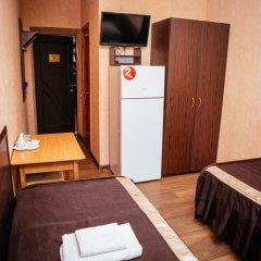 Гостиница Каштан Стандартный номер разные типы кроватей фото 12