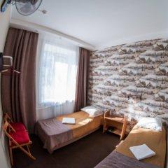 Хостел Хабаровск B&B Кровать в общем номере с двухъярусной кроватью фото 13