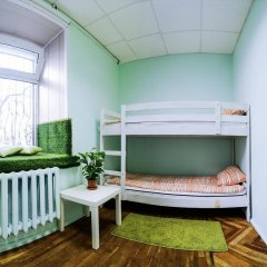 Хостел Old Flat на Невском Кровать в общем номере с двухъярусной кроватью фото 2