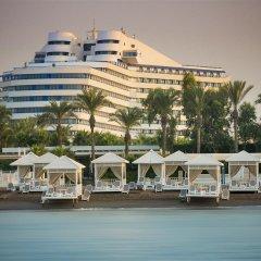 Titanic Beach Lara Турция, Анталья - 14 отзывов об отеле, цены и фото номеров - забронировать отель Titanic Beach Lara - All Inclusive онлайн пляж фото 2
