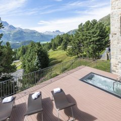 Отель Randolins Familienresort Швейцария, Санкт-Мориц - отзывы, цены и фото номеров - забронировать отель Randolins Familienresort онлайн бассейн