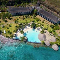 Отель InterContinental Resort Tahiti Французская Полинезия, Фааа - 1 отзыв об отеле, цены и фото номеров - забронировать отель InterContinental Resort Tahiti онлайн бассейн фото 3