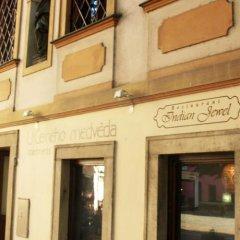 Отель U Cerneho Medveda- At The Black Bear вид на фасад фото 3